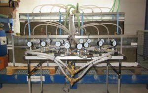 Simulation der Sanierung einer großflächigen Boden- und Grundwasserverunreinigung durch Air-Sparging