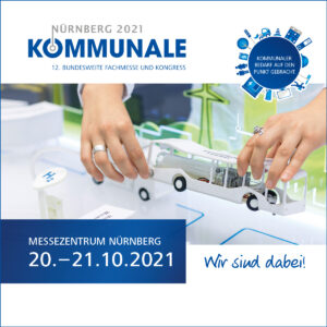 Einladung zur KOMMUNALE 2021